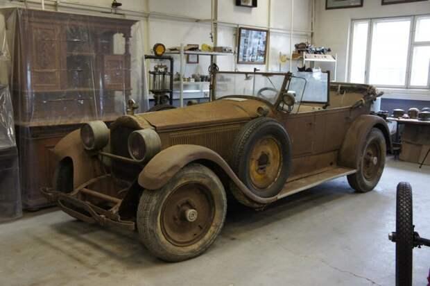 1926 Packard barn find, packard, авто, автомобили, восстановление, олдтаймер, реставрация, ретро авто