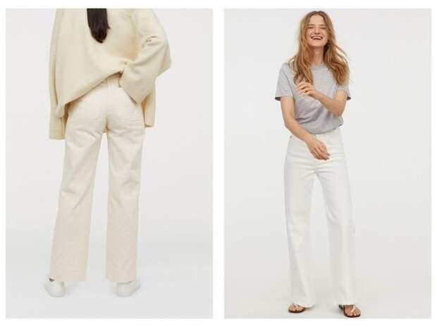 Всего одни джинсы на весну — белоснежные (фото 6)