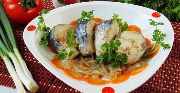 Скумбрия в банке - супер рецепт вкуснейшей рыбки!