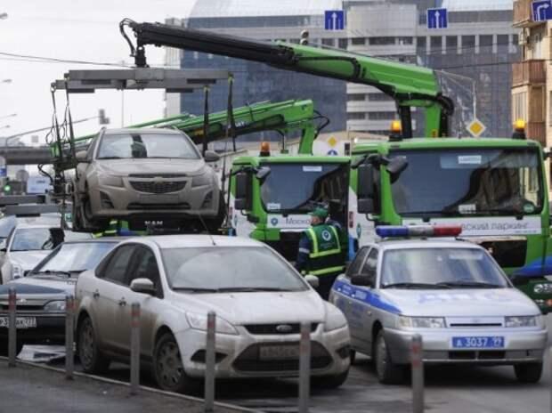 В Москве появится «горячая линия» для жалоб на неправильно припаркованные авто