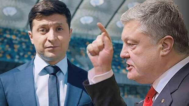 Порошенко перехватил у Зеленского управление Украиной