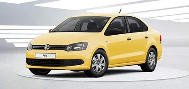 Volkswagen в конце ноября предложит Polo в желтом цвете