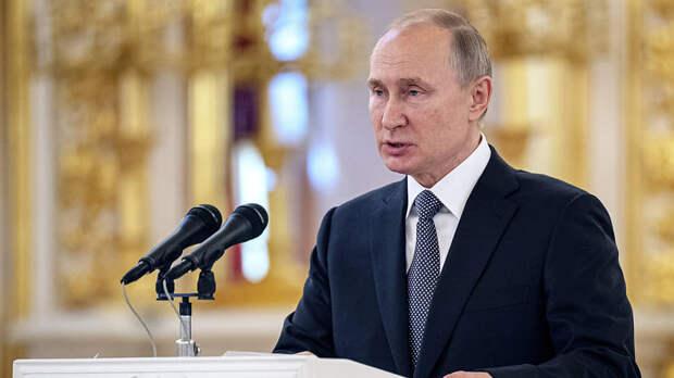 «Мы же не можем это сделать за них»: Путин прокомментировал призывы к соблюдению Минских соглашений
