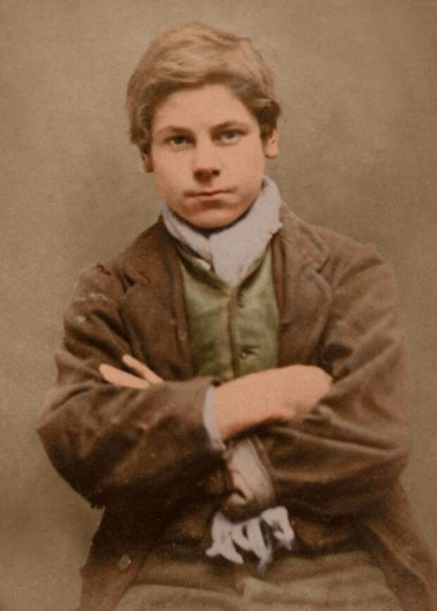 Портреты детей XIX века, приговоренных ккаторжным работам итюрьме замелкие кражи