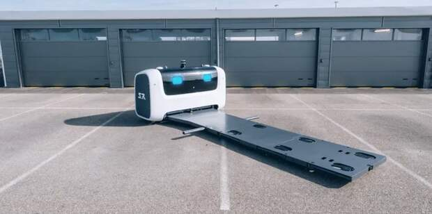 Британский аэропорт Гатвик экспериментирует с роботами-парковщиками для парковки автомобилей
