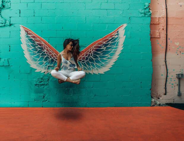 В раю легко быть ангелом?