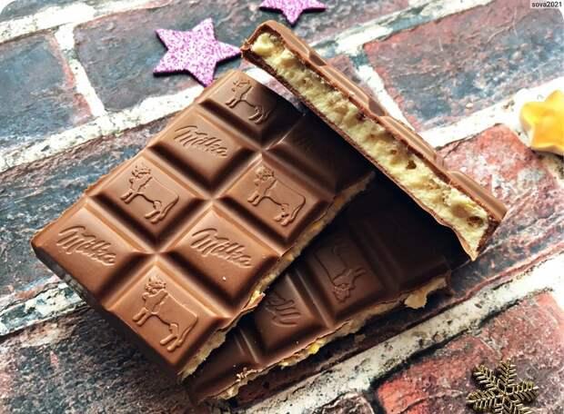 Молочный шоколад не утоляет голод. / Фото: irecommend.ru