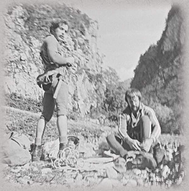каскадёры-альпинисты