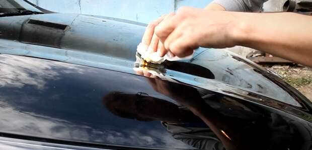 Как легко убрать тополиные почки и следы от них с кузова автомобиля