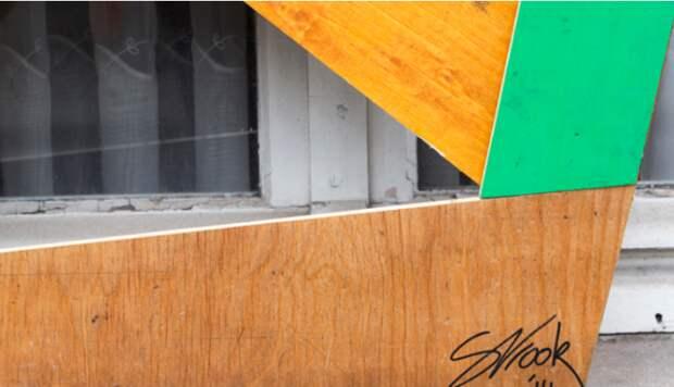 Деревянные граффити портреты от  Stefaan De Croock (трафик)
