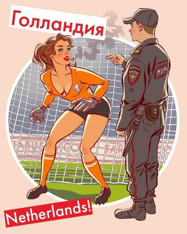 """Андрей Тарусов пояснил в своем """"Инстаграме"""", что он совсем упустил из виду: Голландия не попала на Чемпионат мира по футболу в России."""