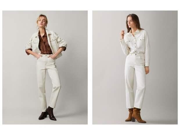 Всего одни джинсы на весну — белоснежные (фото 2)