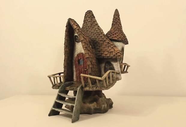 Инструкция: как построить волшебный домик из мусора инструкция, светильник, светильник своими руками, своими руками, сделай сам, хенд-мейд, хендмейд, хендмейд-мастер