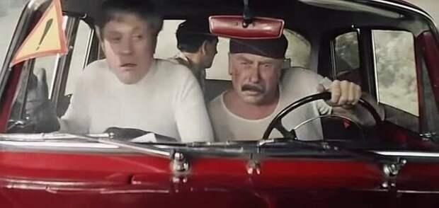 Автомобиль Шефа из «Бриллиантовой руки» АВТОМАШИНА, авто, москвич