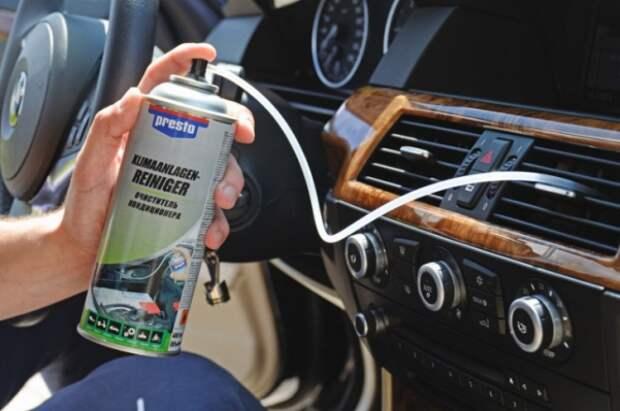 очистка воздуховода автомобиля