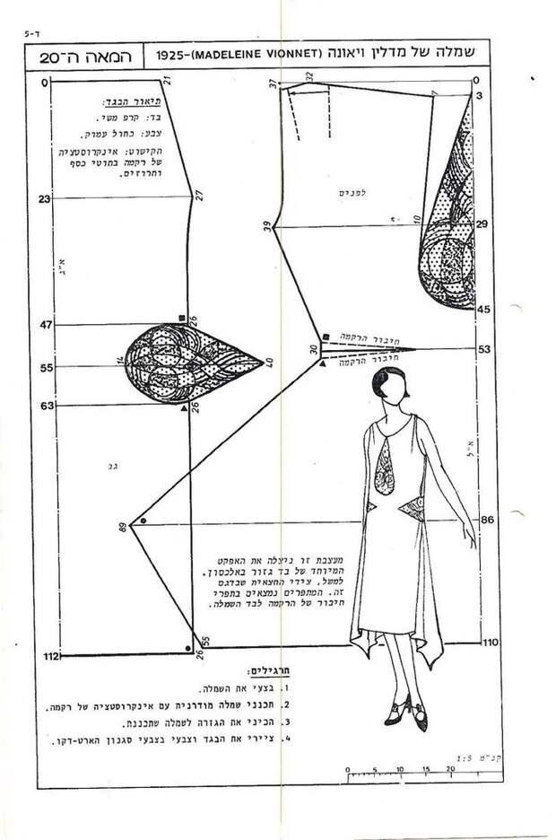 Выкройка платья Вионне