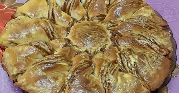 Закусочный пирог Ромашка. Вся семья всегда просит добавки 2