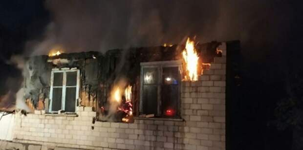 На пожаре в Кировском районе погиб человек