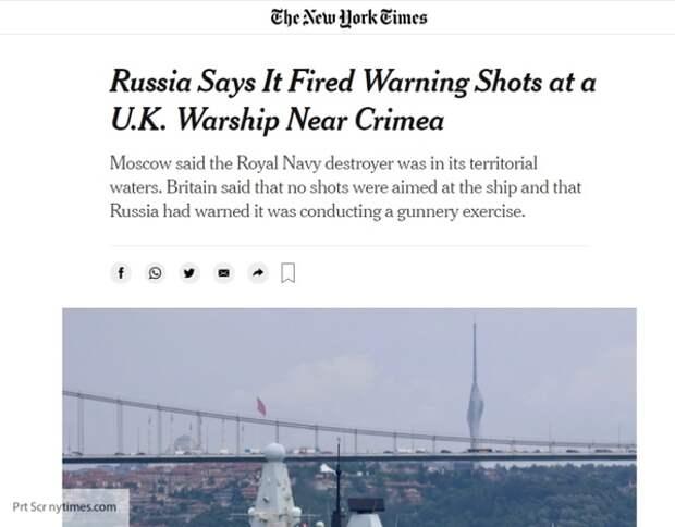 «Британия играет с огнем»: кого поддержали зарубежные СМИ после стрельбы в Черном море