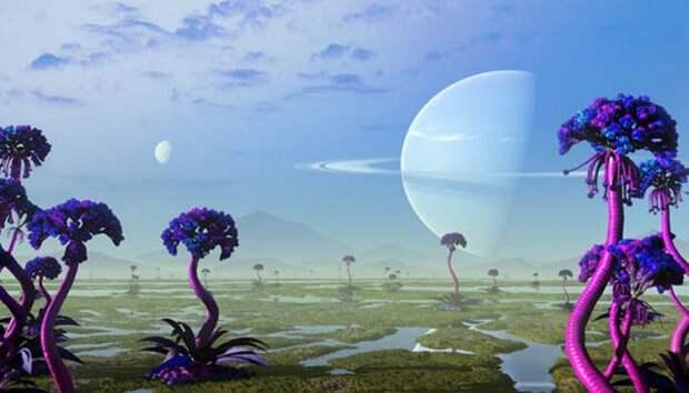 Многообразие жизни имеет внеземное происхождение