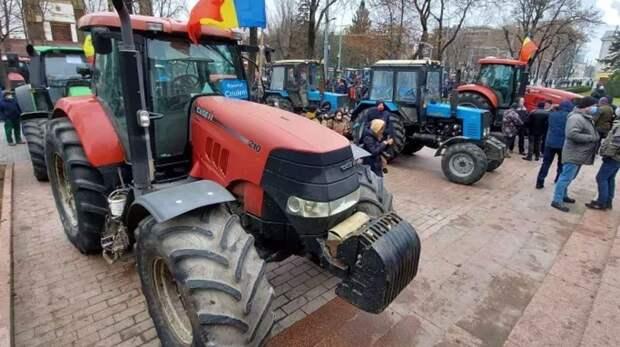 Молдавия: протесты трактористов или попытка госпереворота?