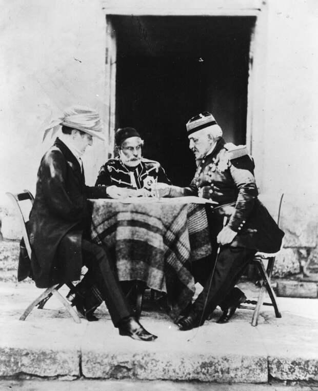 Встреча военных коалиции