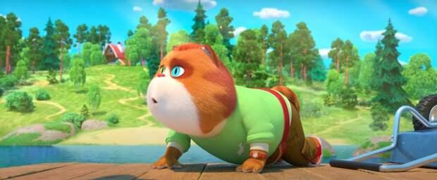 Пёсики играют с котиками в первом трейлере мультфильма «Барбоскины на даче»
