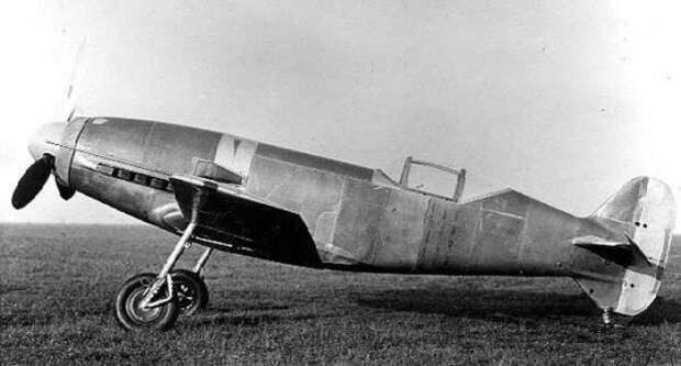 Самые быстрые самолеты в мире. Часть 27 Рекордный самолет Messerschmitt Me 209 V-1, Германия 1937