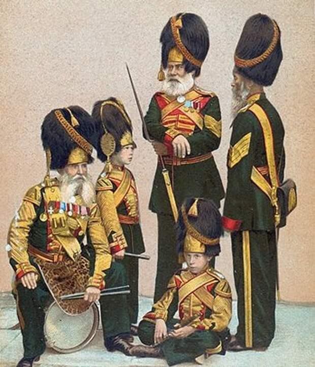 Рота дворцовых гренадер Русской императорской армии