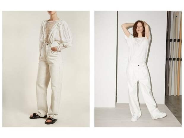 Всего одни джинсы на весну — белоснежные (фото 5)