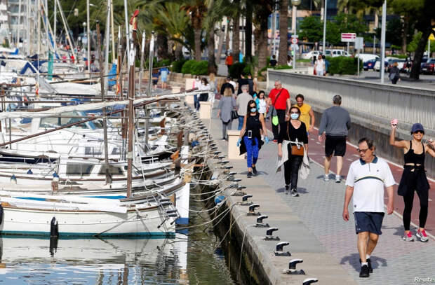 В Испании объявили об отмене масочного режима