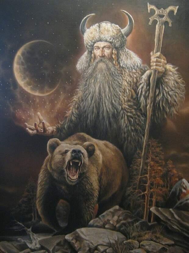 Арт, изображающий Велеса
