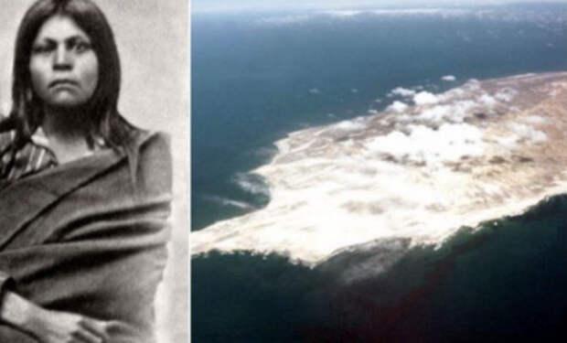 Женщину случайно забыли на необитаемом острове и она там жила 18 лет
