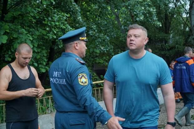 Вице-премьер Евгений Кабанов побывал в подтопленных сёлах Бахчисарайского района