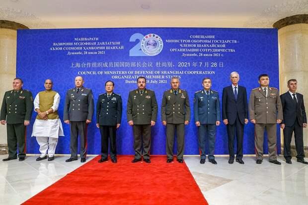 Заседание министров обороны ШОС в Душанбе