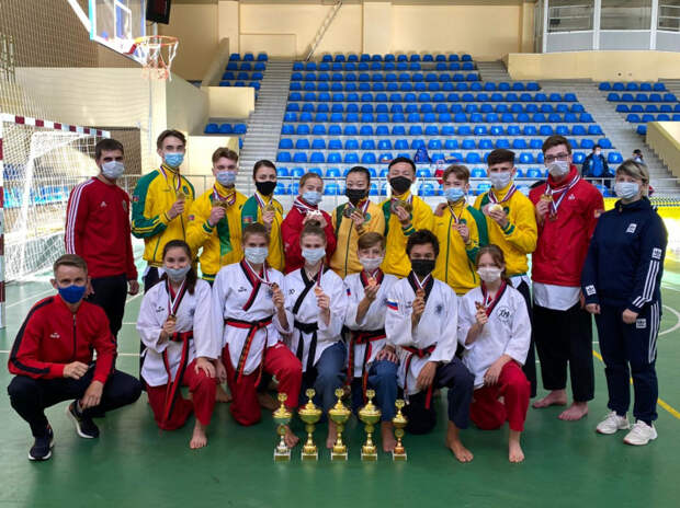Кубанские тхэквондисты стали самыми лучшими на всероссийских соревнованиях