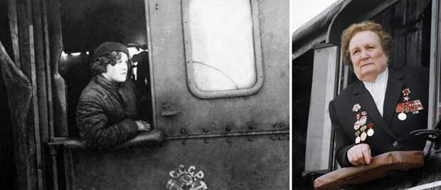 Как русские женщины стали водить поезда (ФОТО)