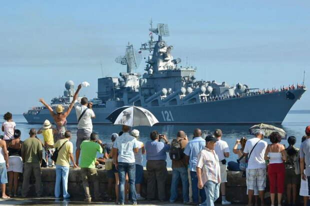Штаты в истерике: Русские возвращаются на Кубу!