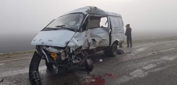 В Выселковском районе в ДТП погибли шесть человек