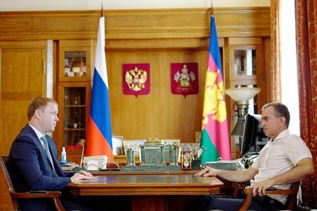 Губернатор предложил своему заму Василию Швец возглавить Анапу