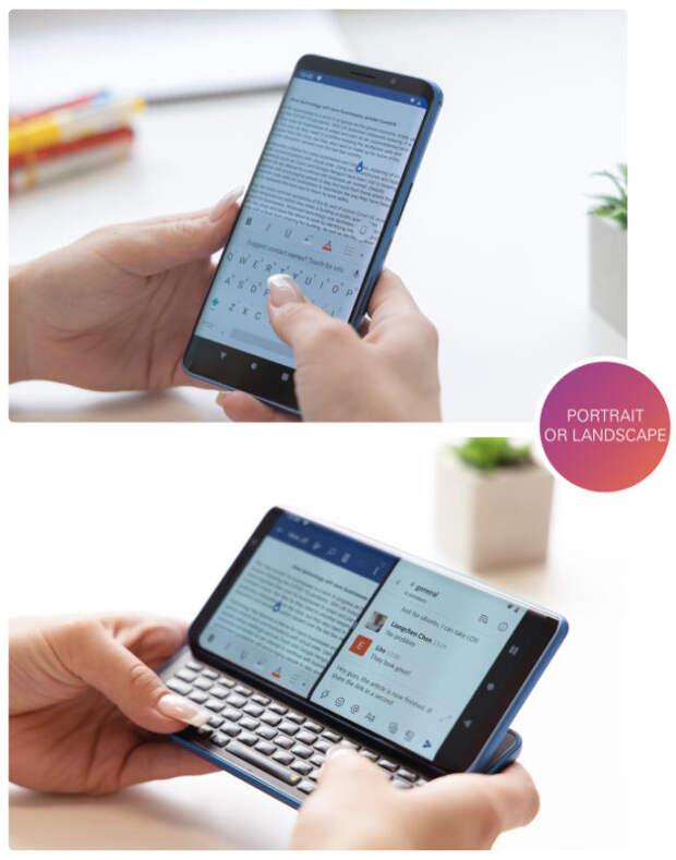 Смартфон года Pro1-X: работает на Android, Ubuntu и LineageOS