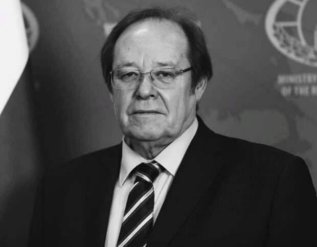 Посол РФ в Замбии Александр Болдырев умер в возрасте 65 лет