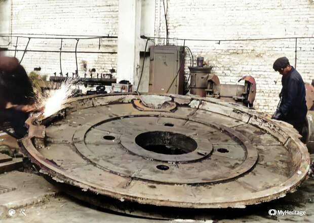 Первая отливка цеха крупного литья весом 5 тонн