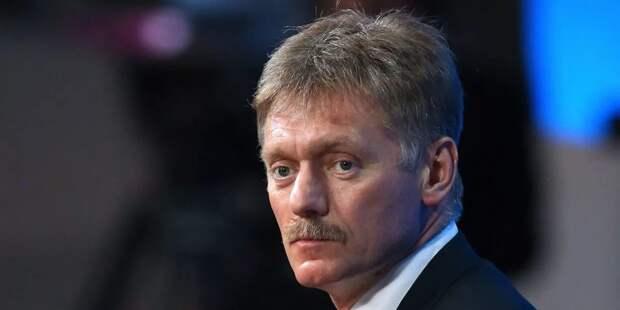 Песков оценил действия полиции на несанкционированных акциях