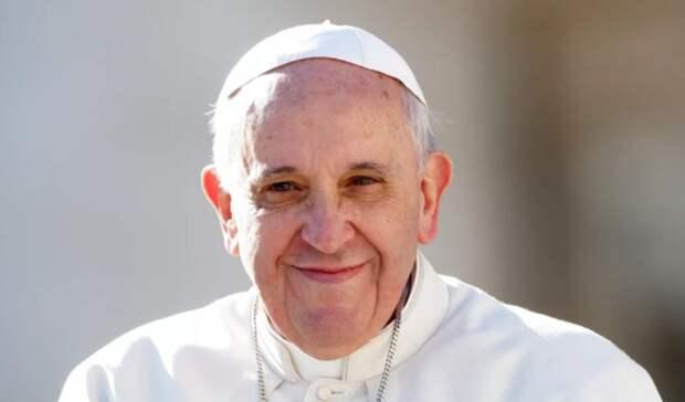 Папа Римский также встал наохрану климата
