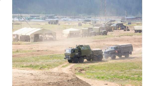 В Восточном военном округе проводятся внезапные военные учения