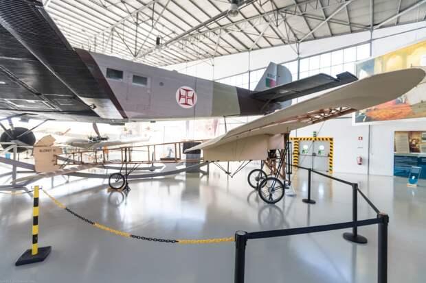 Самолет, на котором дядюшка Блерио пересек Ла-Манш