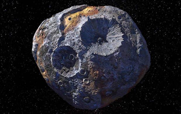 Золотой астероид оказался сгустком космического мусора