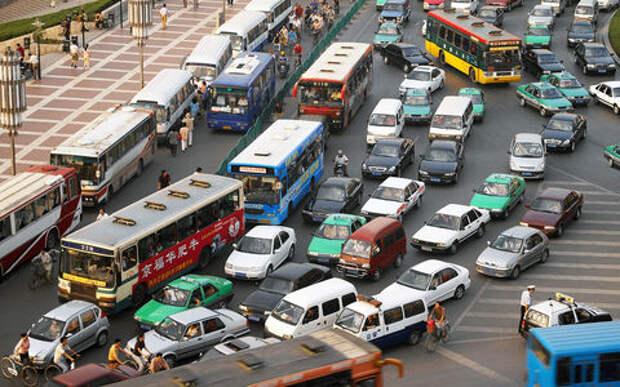 В Китае готовятся запретить автомобили с ДВС