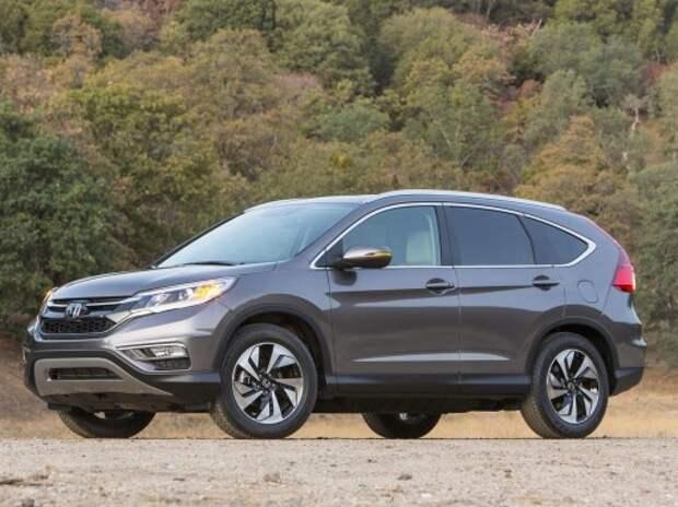 Кроссовер Honda CR-V подвергли глубокой модернизации